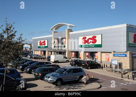 SCS Furniture Store, Junction 27 Retail Park, Birstall, West Yorkshire - Stock Photo