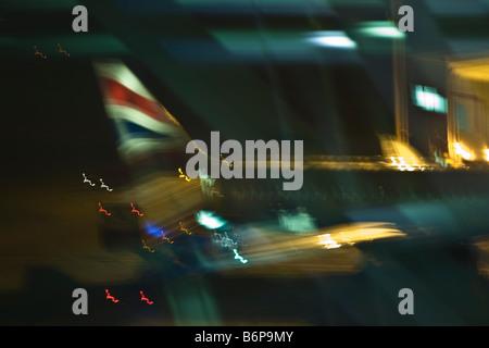 British Airways airplane aircraft Gatwick Airport London England United Kingdom Great Britain British Isles GB UK - Stock Photo