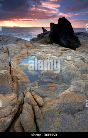 Point Ellan Vivonne Bay Kangaroo Island South Australia - Stock Photo