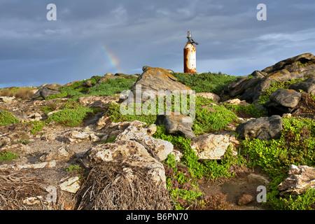 Point Ellan beacon - Stock Photo