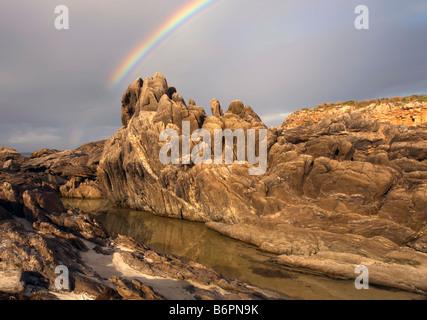 Point Ellan Rainbow - Stock Photo