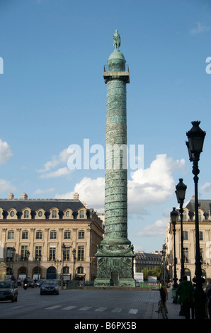 Place Vendome, Paris, France, Europe - Stock Photo