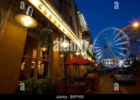 Manchester At Night - Stock Photo