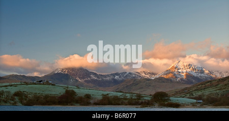 Mt Snowdon sunrise - Stock Photo