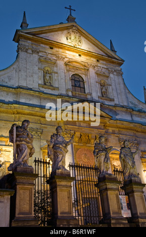 Church of Saints Peter and Paul Krakow Poland - Stock Photo