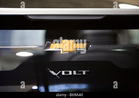 SANTA MONICA CA SEPT 26 The Chevrolet Volt at the The Alt Car Expo an outlet for alternative vehicles. - Stock Photo