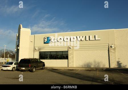Goodwill store in Flint Michigan USA Stock Photo, Royalty ...