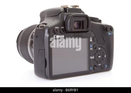 Canon EOS 450D (Rebel XSi), 12 megapixel digital slr, with the 18-55mm kit lens - Stock Photo