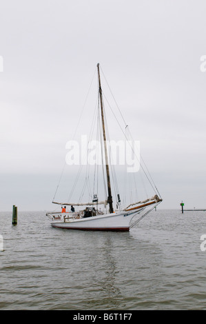 Annapolis Maryland, USA, Skipjack Helen Virginia - Stock Photo