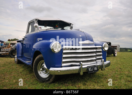 1950 Chevrolet 3100 Pickup front view - Stock Photo