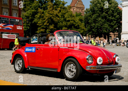 1978 Volkswagen Beetle 1303 LS Cabrio on Cars Competition during XXXIth Warsaw Antique Car Rally. July 7, 2008 in - Stock Photo
