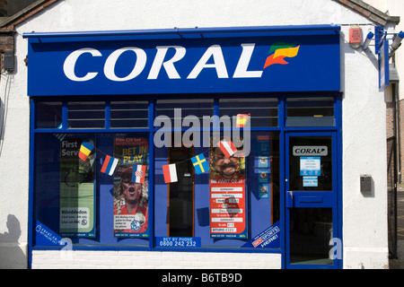 coral bookmaker betting shop england uk gb - Stock Photo