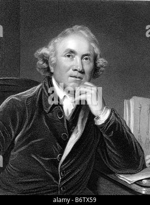 JOHN HUNTER  Scottish physiologist and surgeon 1728-1793 - Stock Photo