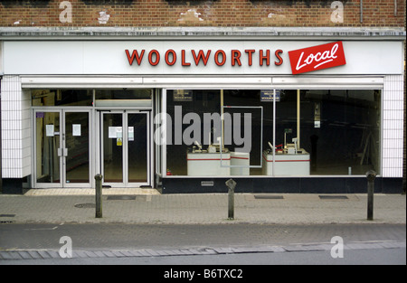 Woolworths, Woolies, High St, Retail, Closure - Stock Photo