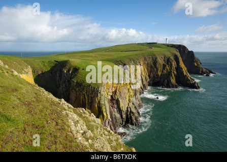 Mull of Galloway, Scotlands most southerly point, Rhins of Galloway, Dumfries & Galloway, Scotland - Stock Photo