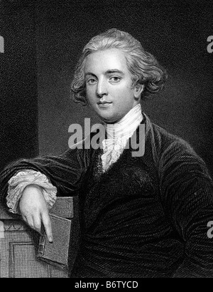 SIR WILLIAM JONES English philologist and student of ancient India 1746-1794 - Stock Photo