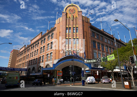 McWhirters Markets Fortitude Valley Brisbane Queensland Australia - Stock Photo