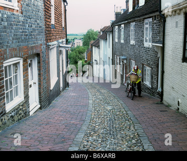 Keere St. Lewes, East Sussex. - Stock Photo