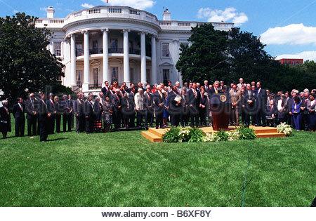 7 29 97 Balanced Budget Agreement President Bill Clinton Makes His