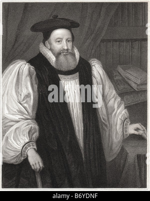George Abbot (October 19, 1562 – August 5, 1633) was an English divine and Archbishop of Canterbury. - Stock Photo
