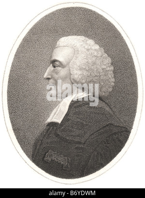 Hugh Blair (April 7, 1718 – December 27, 1800), was a Scottish author, considered one of the first great theorists - Stock Photo
