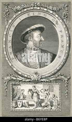Francis I King of France 12 Sept 1494 31 Mar 1547 - Stock Photo