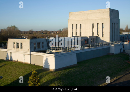 Thames Water treatment works at Kempton Park, Middlesex. UK. (44) - Stock Photo