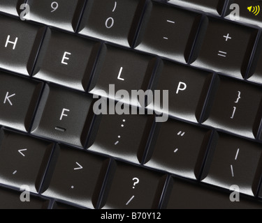 COMPUTER TECHNOLOGY: Help - Stock Photo