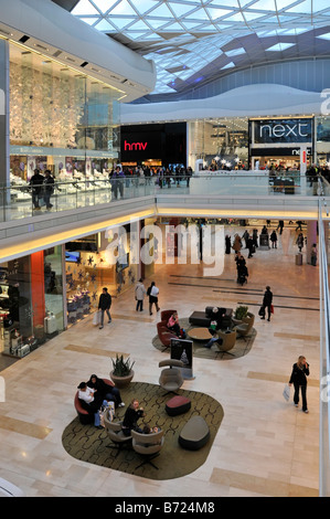 Westfield shopping centre Shepherds Bush London - Stock Photo