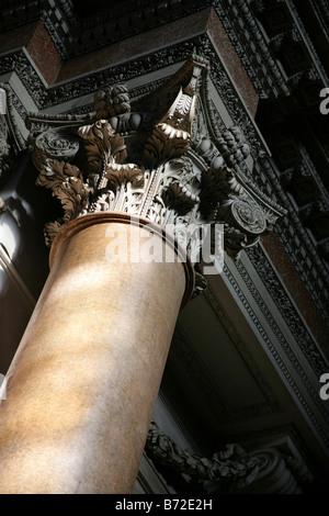 marble column - Stock Photo