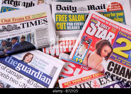 Newspaper's. - Stock Photo
