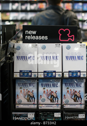 Mamma Mia DVD is biggest selling of all time in UK shifting over 5m units - Stock Photo