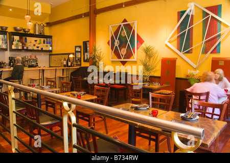 interior of Novo Restaurant San Luis Obispo California United States - Stock Photo