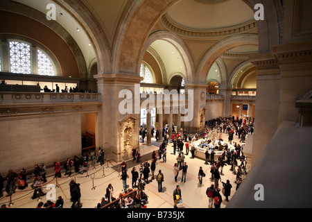 Great Hall, Metropolitan Museum of Art - Stock Photo