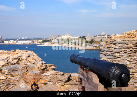 Mount Batten Fort, Plymouth - Stock Photo