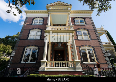 The historic Calhoun Mansion on Meeting Street, Charleston, South Carolina, USA - Stock Photo