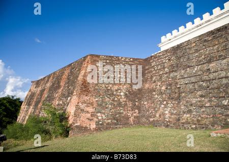 Conde de Mirasol Fort built in 1845 in Vieques Puerto Rico - Stock Photo