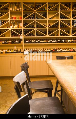 Los Olivos Cafe and Wine Merchant Los Olivos Santa Ynez Valley California United States of America - Stock Photo