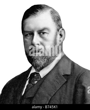 Bram Stoker 1847 1912 Irish Writer - Stock Photo