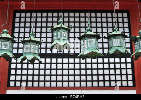 Kasuga Taisha, Nara City, Nara Prefecture, Kansai, Honshu, Japan - Stock Photo