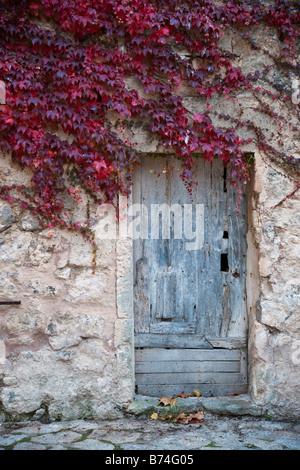Mallorca Valldemossa an old door - Stock Photo