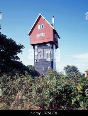 House in the Clouds, Thorpeness - Stock Photo