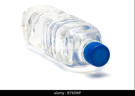 500 millilitre plastic bottle of drinking water - Stock Photo