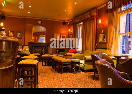 White Horse pub in Soho in central London England UK - Stock Photo