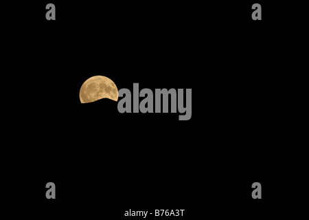 full moon ticino tessin switzerland europe night sky swiss moon light - Stock Photo