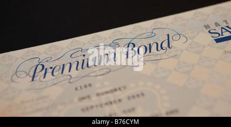 Premium Bond - Stock Photo