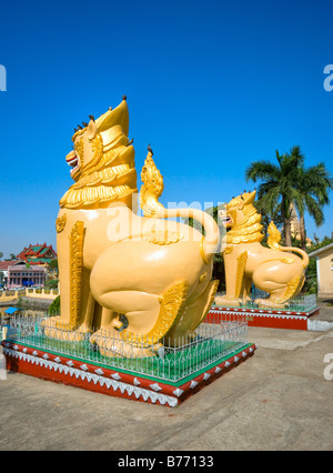 Shwedagon Paya the most sacred buddhist temple in Myanmar Yangoon Myanmar - Stock Photo