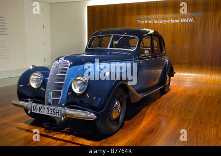 BMW Museum, BMW-335, Munich, Bavaria, Germany, Europe - Stock Photo