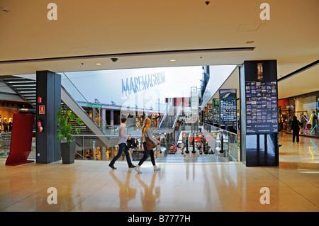 Mare Magnum, shopping and leisure complex, Moll de Espana, port, Barcelona, Catalonia, Spain, Europe - Stock Photo