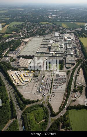Aerial photo, Bochum, Opel factory 1, Langendreer, Bochum, Ruhr area, North Rhine-Westphalia, Germany, Europe - Stock Photo